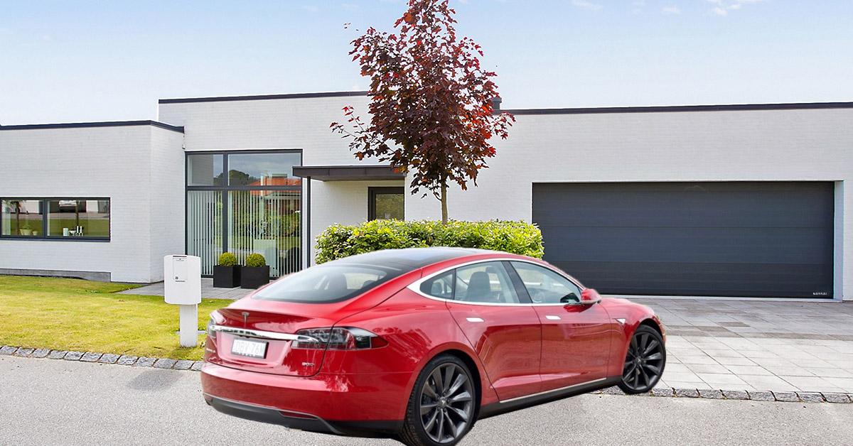Homelink Tesla