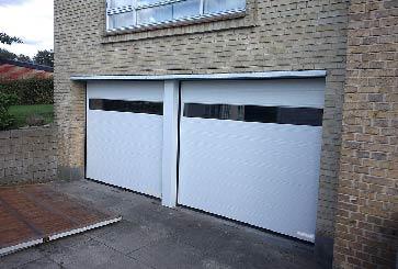 porte de garage panorama