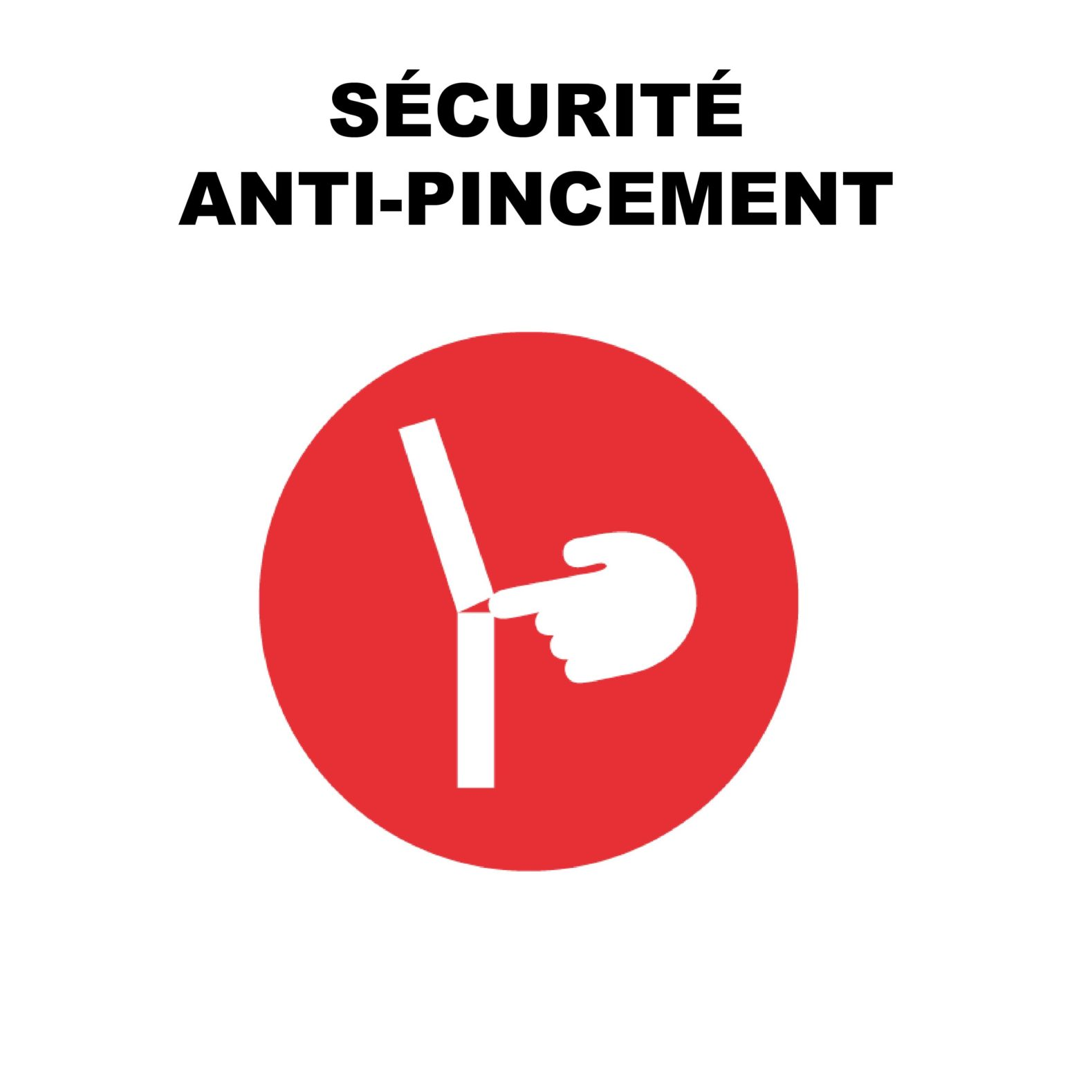 secutire anti pincement