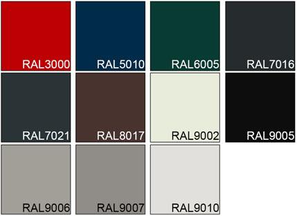 NASSAU Standard colour 2019