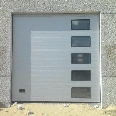 porte sectionelle vitree
